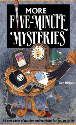 9781561380589: More Five-Minute Mysteries: 34 New Cases Of Murder And Mayhem For You To Solve