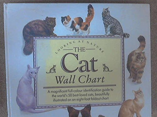 The Cat Wall Chart - a magnificent full-color identification guide to the world's 50 best-loved c...