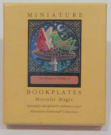 9781561382453: Miniature Bookplates: Moonlit Magic