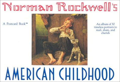 Norman Rockwell's American Childhood: A Postcard Book (Running Press Postcard Books): Rockwell...