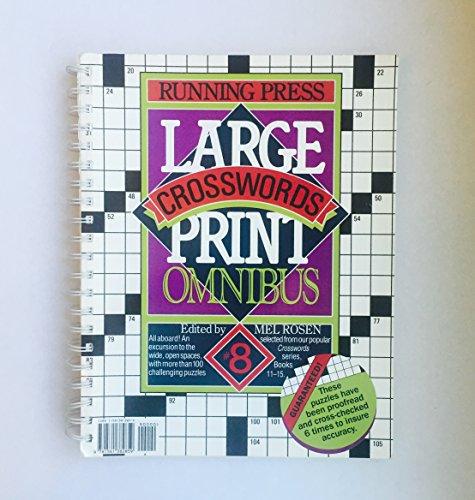 Large Print Crosswords Omnibus 8