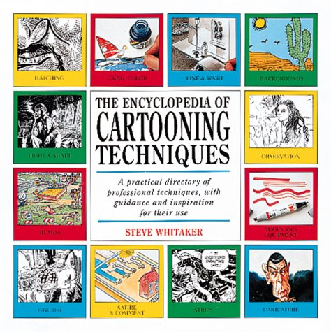 9781561383542: The Encyclopedia of Cartooning Techniques