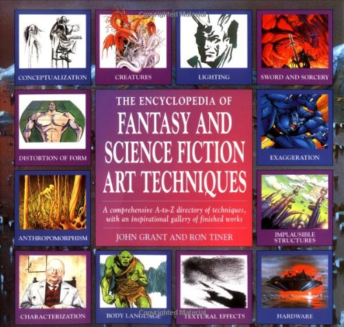 9781561385348: Encyclopedia of Fantasy and Science Fiction Art Techniques
