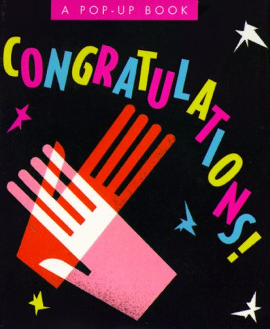 Congratulations! (Miniature Pop-up Books): Jane Parker Resnick;