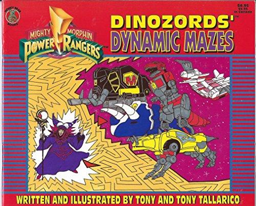 9781561444700: Mighty Morphin Power Rangers: Dinozords Dynamic Mazes