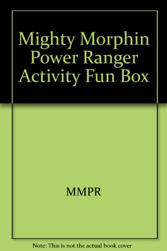 9781561445264: Mighty Morphin Power Ranger Activity Fun Box