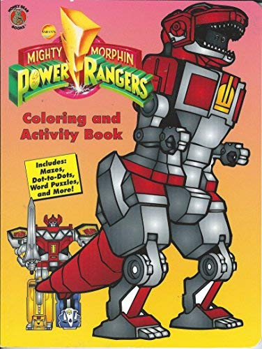 9781561445851: Mighty Morphin Power Rangers Coloring and Activity Book