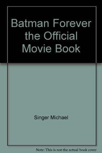 Batman Forever-The Official Movie Book