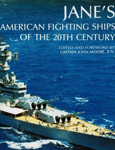 9781561447206: Jane's American Fighting Ships of the 20th Century