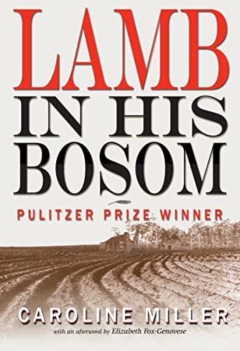 9781561456017: Lamb in His Bosom (Modern Southern Classics)