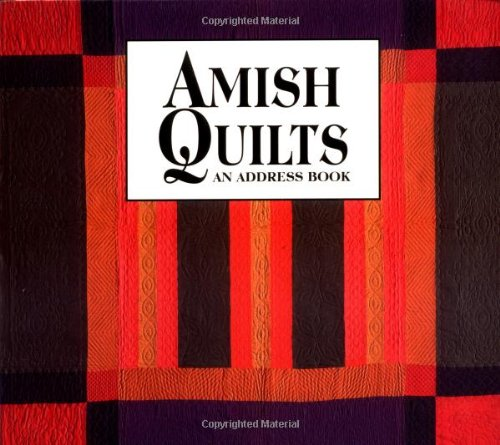 9781561482528: Amish Quilts: An Address Book