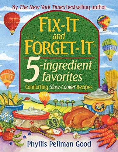 9781561485291: Fix-It and Forget-It 5-Ingredient Favorites: Comforting Slow-Cooker Recipes