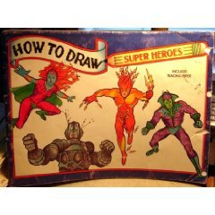 How to Draw Super Heroes: Illustrator-Jael