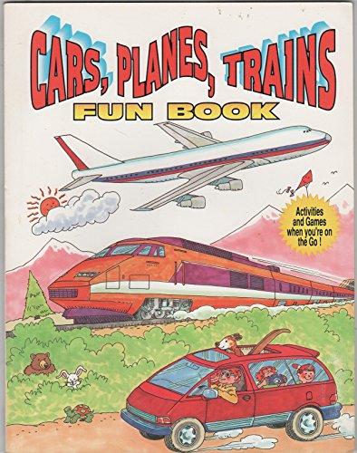 Cars, planes, trains fun book: Tony Tallarico