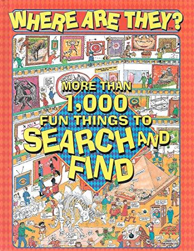 Where are they?: More than 1,000 fun: Tony Tallarico