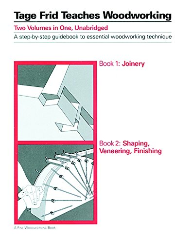 9781561580682: Tage Frid Teaches Woodworking (Joinery / Shaping, Veneering, Finishing)