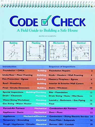 9781561581115: Code Check: A Field Guide to Building a Safe House (Code Check: An Illustrated Guide to Building a Safe House)