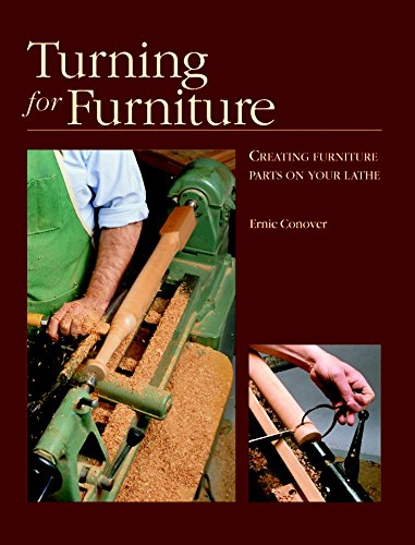 9781561581177: Turning for Furniture: with Ernie Conover (Fine Woodworking DVD Workshop)