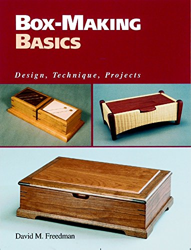 9781561581238: Box-making Basics: Design, Technique, Project