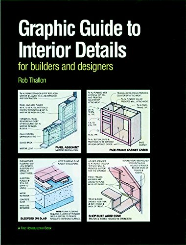 Graphic Guide to Interior Details: For Builders and Designers (For Pros By Pros): Thallon, Robert