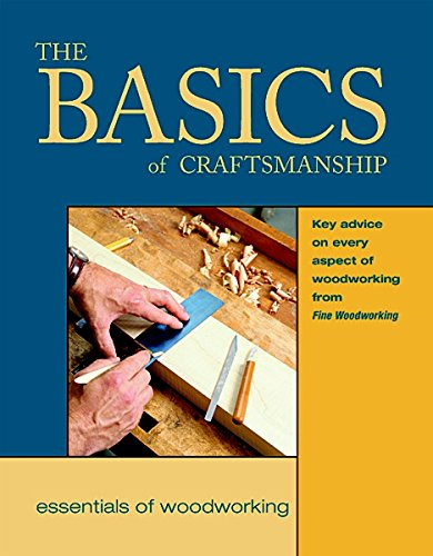 9781561582976: The Basics of Craftsmanship: Key Advice on Every Aspect of Woodworking (Essentials of Woodworking)