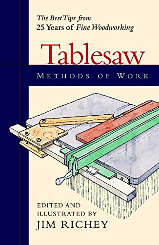 9781561583676: Methods of Work: Tablesaw