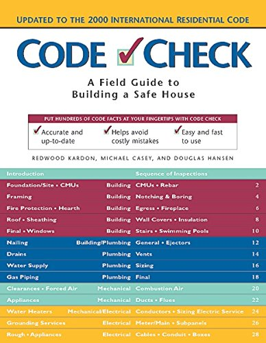 9781561584079: Code Check: A Field Guide to Building a Safe House (Code Check: An Illustrated Guide to Building a Safe House)