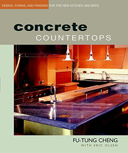 9781561584840: Concrete Countertops: Design, Forms, and Finishes for the New Kitchen and Bath