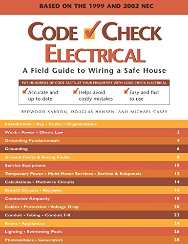 9781561585502: Code Check Electrical: A Field Guide to Wiring a Safe House (Code Check Electrical: An Illustrated Guide to Wiring a Safe)