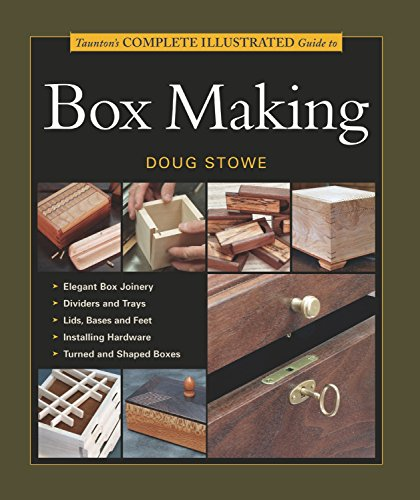9781561585939: Tauntons Complete Illustrated Guide to Box Making