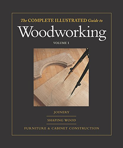 Complete Illustrated Guide To Woodworking (3 Volumes)