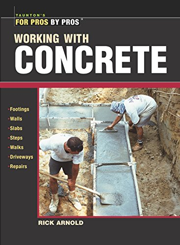 9781561586141: Working With Concrete