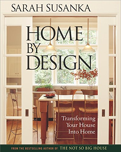 Home 9781561586189 In Home by Design, Sarah Susanka presents the 30 key design concepts that can be applied to any home - no matter what the style or size. Using 28 of the best designed homes from around the country, Susanka brings these concepts to life with 150 powerful and inspirational examples: from something as simple as placing a rug under a table to renovating a whole second floor. Home by Design shows homeowners a new way to look at their spaces and provides ideas for how to make each home reach its full potential.