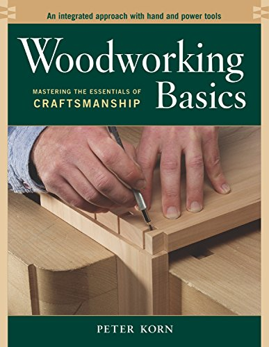 9781561586202: Woodworking Basics - Mastering the Essentials of Craftsmanship - An Integrated Approach With Hand and Power tools