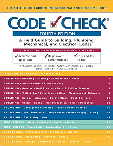 9781561586257: Code Check: A Field Guide to Building a Safe House (Code Check: An Illustrated Guide to Building a Safe House)