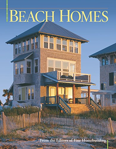 9781561586905: Beach Homes (Best of Fine Homebuilding)