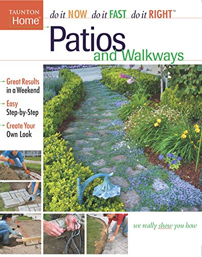9781561587230: Patios and Walkways (Taunton Home)