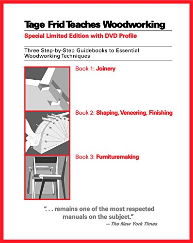 9781561588268: Tage Frid Teaches Woodworking: Three Step-by-Step Guidebooks to Essential Woodworking Techniques