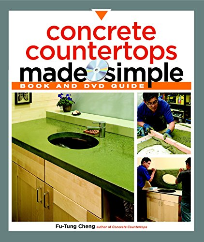 9781561588824: Concrete Countertops Made Simple: A Step-By-Step Guide (Made Simple (Taunton Press))