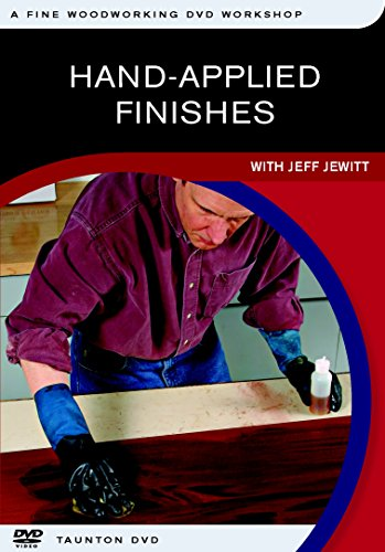 9781561589005: Hand-Applied Finishes: A Fine Woodworking Video Workshop