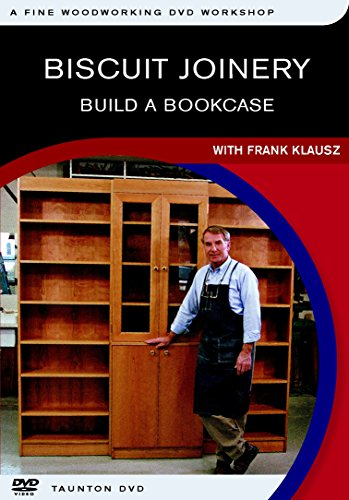 9781561589029: Biscuit Joinery (Fine Woodworking DVD Workshop)