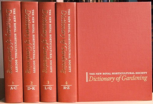 9781561590018: Dictionary of Gardening