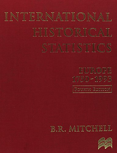 9781561592364: International Historical Statistics: Europe, 1750-1993