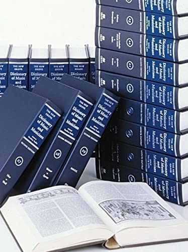 9781561592395: The New Grove Dictionary of Music and Musicians: 29 volumes with index