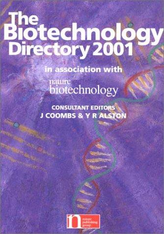 Biotechnology Directory 2001: Y. R. Alston,