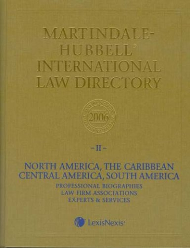 Martindale Hubbell International Law Directory