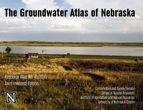 9781561610297: The Groundwater Atlas of Nebraska Third (revised) Edition