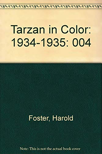 Tarzan in Color, Vol. 4 (1934-1935): Hal Foster