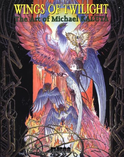 Wings of Twilight, The Art of Michael Kaluta, Signed, Limited Edition: Kaluta, Michael