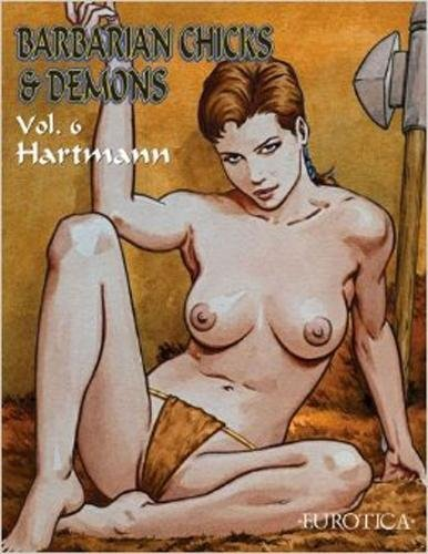 9781561638734: Barbarian Chicks & Demons, Volume 6